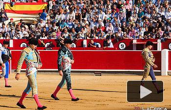 Fotos paseillo - Corrida 16-09-17