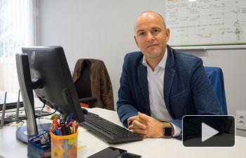 Domingo Segovia, coordinador del equipo de Atención Comunitaria