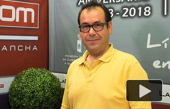 Juan Ramón Crespo, coordinador regional de IU en Castilla-La Mancha