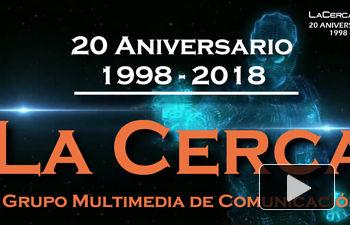 Carátula 20 Aniversario La Cerca - 1998-2018