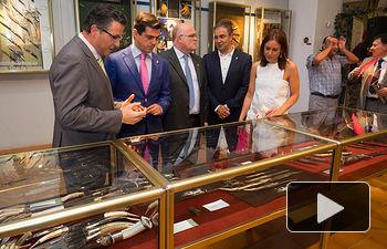Inauguración del XXXVI Salón de la Cuchillería en el Recinto Ferial de Albacete