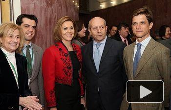 Cospedal y Wert inauguran el I Congreso Internacional La Tauromaquia como patrimonio cultural en Albacete. Foto: JCCM.