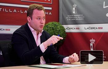 Vicente Casañ, alcalde de Albacete. Foto: Manuel Lozano Garcia / La Cerca