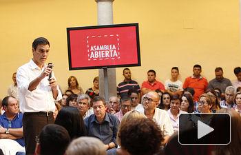 Pedro Sánchez en Albacete - 26-09-14