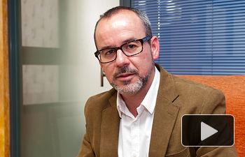 Alberto González, candidato del PSOE a la alcaldía de Villarrobledo.