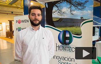 Alberto Martínez, ingeniero técnico eléctrico en Huntec