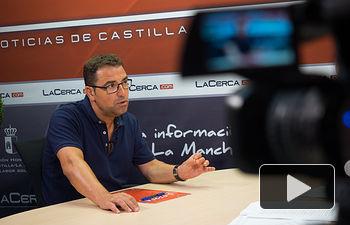 Modesto Belinchón, portavoz del Grupo Municipal PSOE del Ayuntamiento de Albacete.