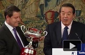 El presidente García-Page recibe a la Selección Regional de Fútbol Sala Alevín