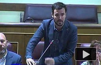 IU: El patriotismo del Partido Popular según Alberto Garzón