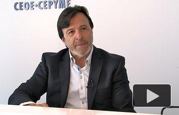 Artemio Pérez, presidente de la Confederación de Empresarios de Albacete (FEDA).