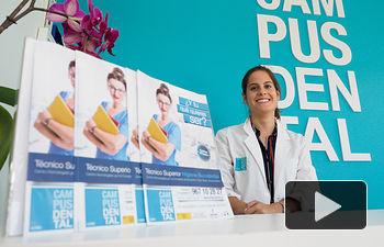María Gil, directora de Campus Dental Albacete