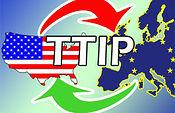 """TTIP: transgénicos, anabolizantes, hormonas y otras """"delicias"""" del paraiso.. Foto: COAG."""