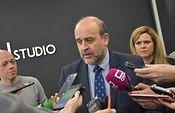El vicepresidente de Castilla-La Mancha, José Luis Martínez Guijarro.