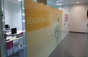 Aula de educación.