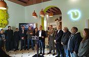 Presentación del ciclo de catas D.O.P. Jumilla que se celebran dentro del sello 'Murcia, Capital Española de la Gastronomía 2020'.