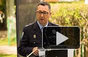 Pascual Martínez, jefe de la Policía Local de Albacete, en la presentación de la Media Maratón Ciudad de Albacete.