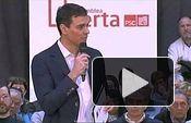 PSOE: Asamblea Abierta de Pedro Sánchez en Viladecans (Barcelona)