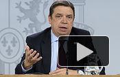 El ministro de Agricultura, Pesca y Alimentación, Luis Planas, responde las preguntas de los medios de comunicación, en la rueda de prensa posterior al Consejo de Ministros.