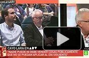 """Entrevista a Cayo Lara en `Al Rojo vivo"""" (La Sexta 24.11.2014)"""