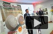 Presentación de la campaña de la Fundación CRDO Queso Manchego, en el estand de la Junta en el Recinto Ferial de Albacete. Foto: La Cerca - Manuel Lozano Garcia