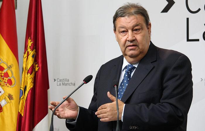 Jesús Fernández Vaquero, presidente de las Cortes de Castilla-La Mancha. Archivo.