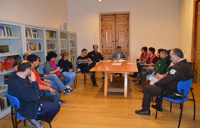 Reunión trabajadores Museo Ciencias.