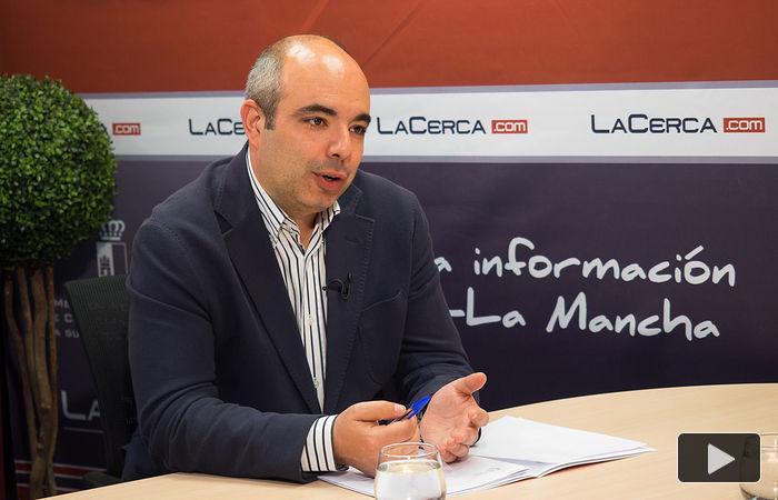 Julián Sevilla, presidente de la Federación de Comercio de Albacete.