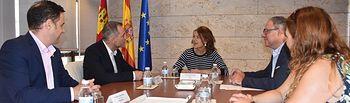 El Gobierno de Castilla-La Mancha se reúne con la nueva Junta Directiva de AFANION.