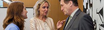 Casero en la reunión con el embajador de España en Japón I. Foto: JCCM.