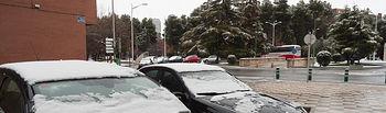 Nieve en Albacete