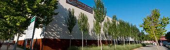 Fachada de la Casa de la Cultura José Saramago, sede de la Universidad Popular de Albacete.