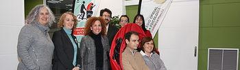 Convenio de colaboración suscrito ayer entre el Colegio Oficial de la Psicología de Castilla-La Mancha y la Asociación En bici sin edad.