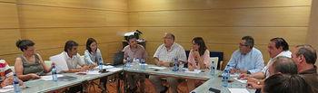 Reunión de la comisión de selección de participantes de Farcama. Foto: JCCM.