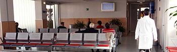 En la imagen, la sala de espera del Servicio de Urgencias del Hospital General La Mancha Centro.