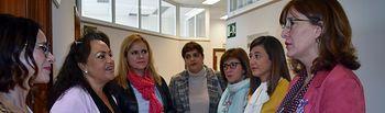 Visita al Centro de la Mujer y los recursos de acogida de la capital conquense.