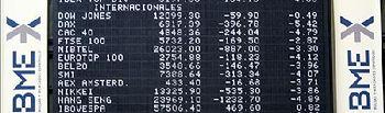 Bolsa de Madrid. Foto de Archivo.