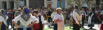 Los alfombristas elcheños honrarán a la Virgen de los Llanos en la ofrenda de flores.