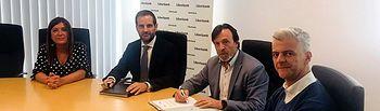 FEDA y Liberbank firman su compromiso para incentivar el desarrollo empresarial de Albacete.