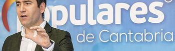 DAVID S. BUSTAMANTE 05/08/2019 SANTANDER/ CANTABRIA Teodoro García Egea interviene en el Comité Ejecutivo del PP de Cantabria. Foto: © 2019 David S. Bustamante, all rights reserved.