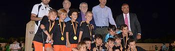 El Gobierno regional ratifica su apoyo al deporte en edad escolar con la asistencia a la final del XIX Campeonato de Fútbol Benjamín 'La Sagra'. Foto: JCCM.