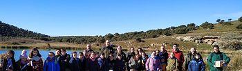"""Escolares del CEIP """"Alcalde Galindo"""" celebran el Día de los Humedales en la Laguna del Arquillo"""