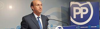 Juan Pablo Sánchez Sánchez-Seco, secretario general del PP de Guadalajara.