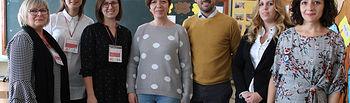 Visita de profesoras polacas al CP 'El Santo'