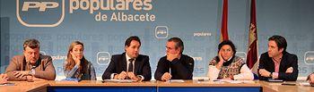 Paco Núñez en el Comité de Dirección PP AB. Foto: PP CLM.