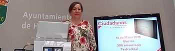 María Jesús López, portavoz Cs Hellín.