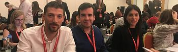 Omar Anguita nuevo Vicepresidente de la Unión Internacional de Jóvenes Socialistas (IUSY).