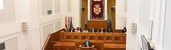 Pleno de las Cortes regionales