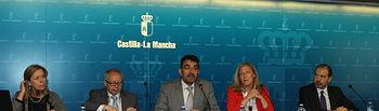Gómez de Vivar y Galván jornadas técnicas sobre seguridad y salud en el trabajo (2). Foto: JCCM.