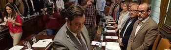Juan Vicente Oltra toma posesión de su acta de diputado provincial en el Grupo Popular