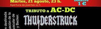 El tributo a AC-DC y a Leño y la representación de la obra de teatro 'Jueves Lardero' para este martes de feria.